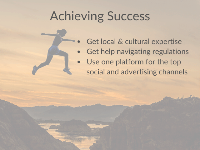 Achieve success advertising your business in china