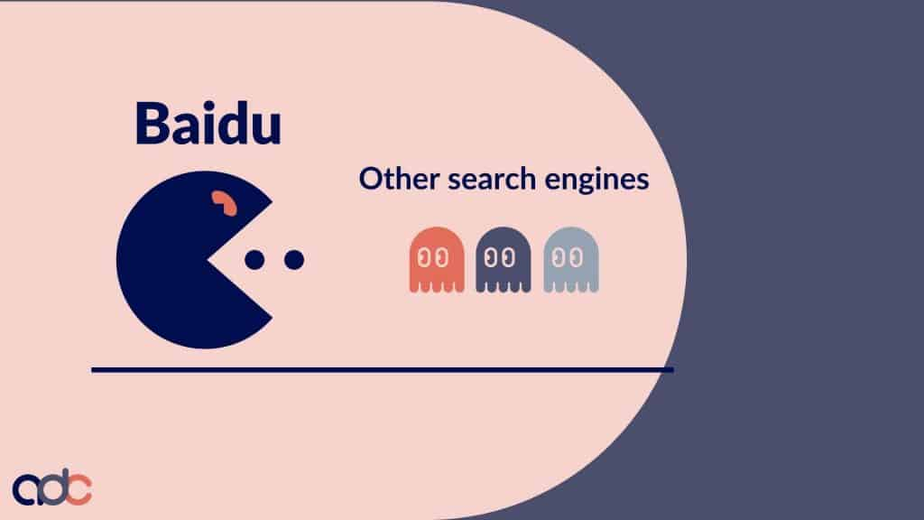 Baidu versus other search engines in China