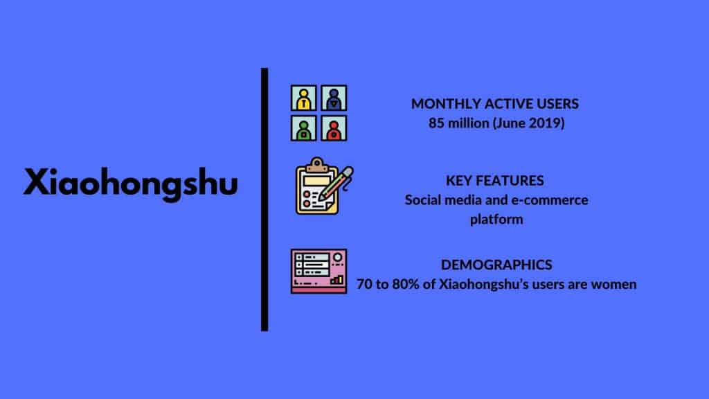 social media marketing in china - Xiaohongshu