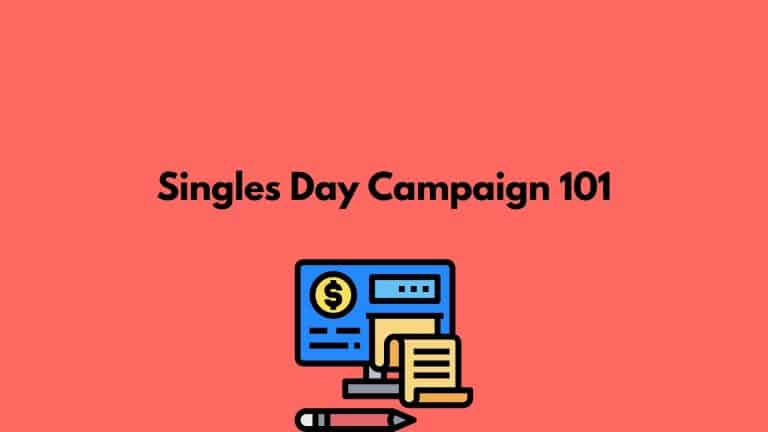 singles day campaign planning