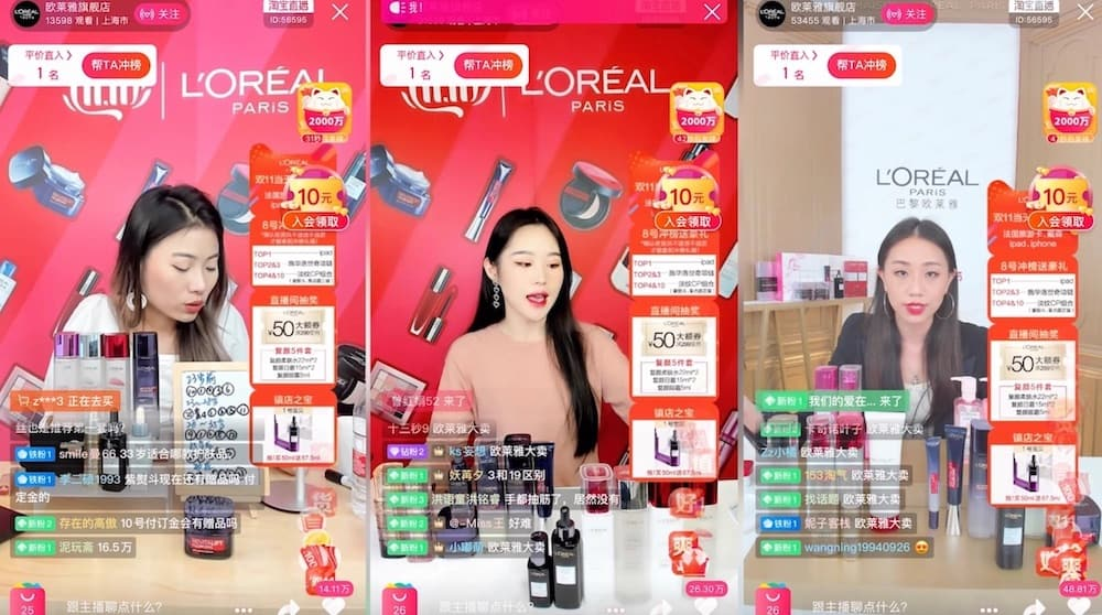 singles day loreal campaign