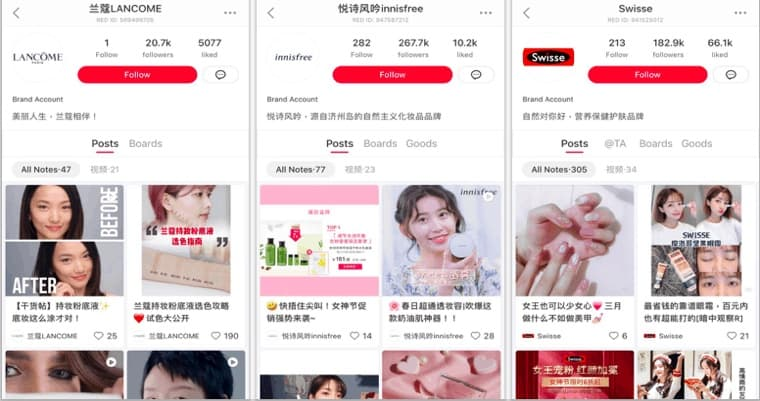 The make-up brands redefining success on XiaoHongshu.