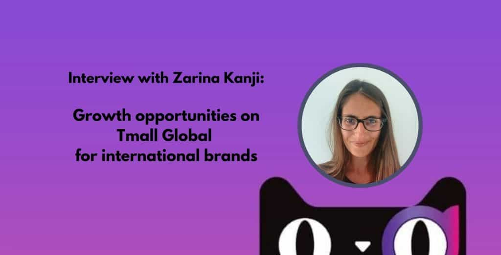 Tmall global growth opportunities for international brands