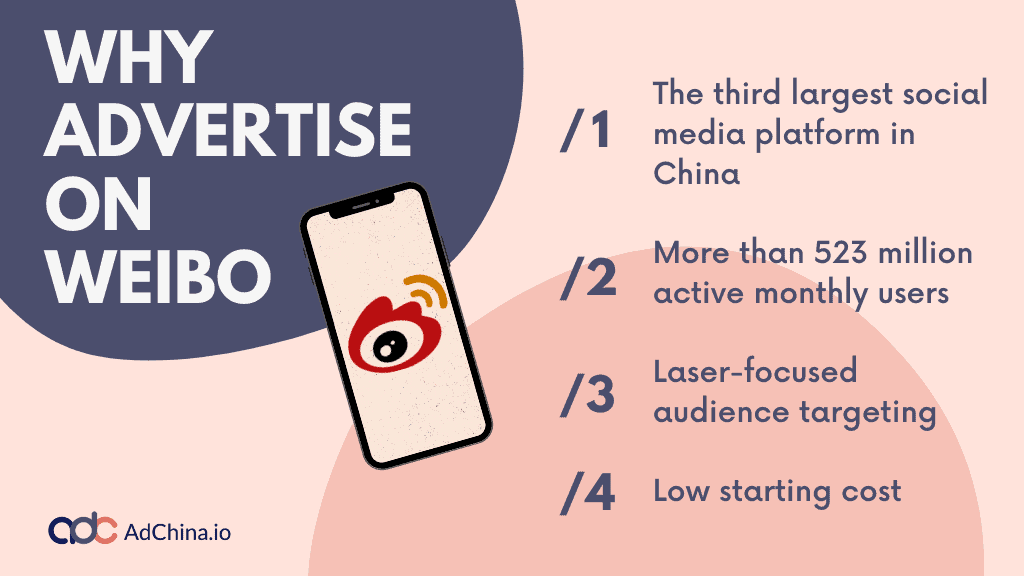 why advertise on weibo
