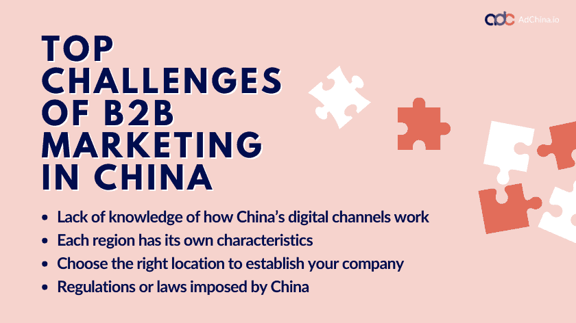 Top challenges for B2B marketing in China - AdChina