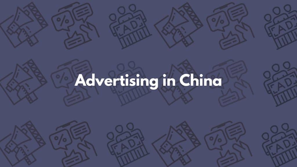 advertising in china