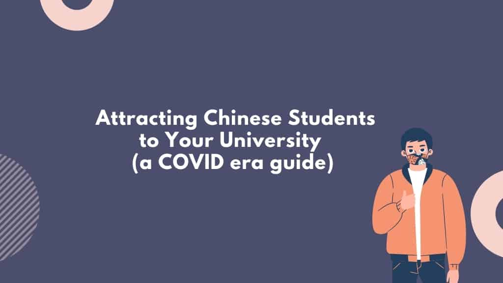 attract chinese students to your university